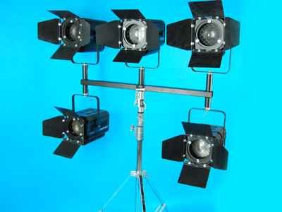 Pack 6 Fresnel Stage 1000w