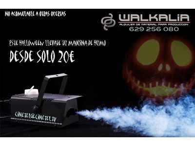 Máquina de humo desde 20 euros
